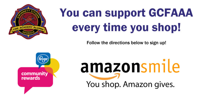 Support GCFAAA Every Time You Shop at Kroger or Amazon!